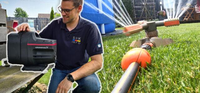 Vorteile einer Gartenwasserpumpe